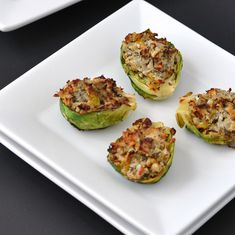 Garlic & Herb Stuffed Brussels Sprouts Recipe - Circle of Moms