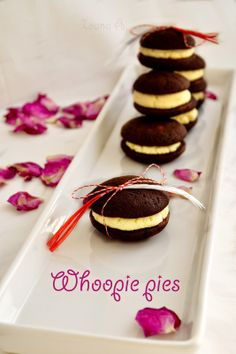 Sweet & Spice: whoopie pies Sweet Spice, Whoopie Pies, Spices, Yummy Food, Cookies, Desserts, Crack Crackers, Tailgate Desserts, Spice