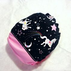 Sparkle Unicorn - sparkles on fabric! {4-in-one diaper} cloth diaper Poopy Doo's