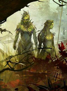 Guild Wars 2 Sylvari