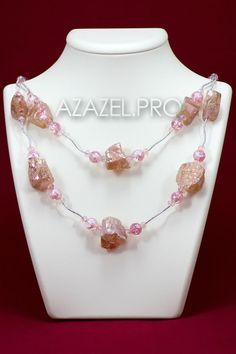 В качестве талисмана кристаллы горного хрусталя привлекают к владельцу любовь, радость жизни, симпатию других людей, удачу, душевный комфорт и благополучие.  Друзья! Представляю Ожерелье бусы колье из Горного хрусталя тонированного №029!  Подробнее здесь: http://azazel.pro/rock-crystal-gemstone/necklaces-made-of-gemstone-rock-crystal.html#029  #ожерелье #колье #бусы #хрусталь