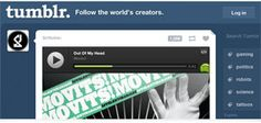 What the Spotify Play Button looks like on the Tumblr dashboard (Image: Spotify)