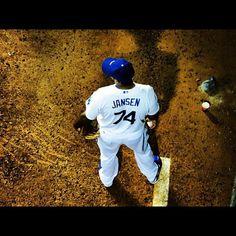 Our great closer when we need him! Dodgers Girl, Dodgers Fan, Dodgers Baseball, Kenley Jansen, Dodger Blue, Dodger Stadium, Love My Boys, Go Blue