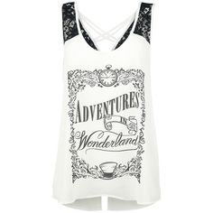 Through The Looking Glass - Adventures In Wonderland - Top by Alice In Wonderland