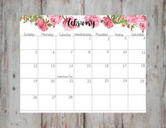 watercolor calendars