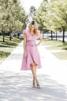Lavender Summer Dress – Ivory Lane