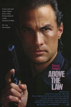 Steven Seagal Above the Law His first and all-time best movie!                                                                                                                                                      More