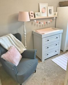 Baby room design - Baby Sienna's Nursery Reveal Baby Nursery Decor, Baby Bedroom, Baby Decor, Nursery Room, Girl Nursery, Girl Room, Girls Bedroom, Nursery Ideas, Ikea Baby Room