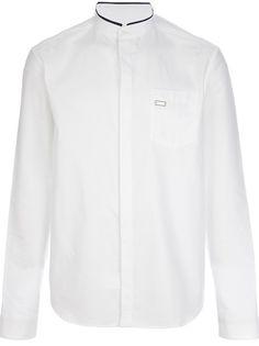 PIERRE BALMAIN Mandarin Collar Shirt