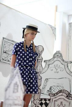 Rachel Antonoff Spring 2012.