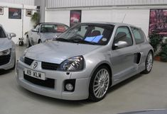 Renault Clio V6 Phase II For Sale Front Three Quarter View