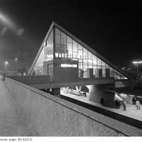 qwe Warsaw City, Ppr, Googie, Poland, Illusions, City Photo, Places To Visit, Louvre, Stairs