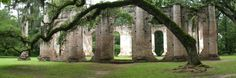 Old Sheldon Church Ruins, Beaufort County, South Carolina