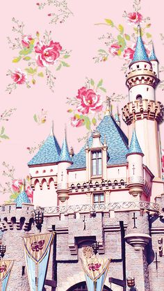 DisneyThis. DisneyThat. - Phone Backgrounds → Sleeping Beauty Castle
