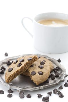 You will love these easy low carb peanut butter cookies for two. With or without chocolate chips!
