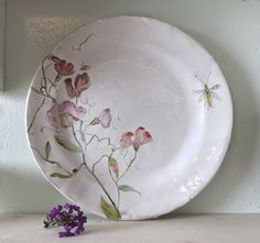 plate du jour   Julie Whitmore Pottery   Bloglovin'