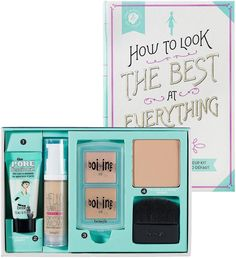 Amazon.com : Benefit Cosmetics How To Look The Best At Everything Medium : Foundation Makeup : Beauty