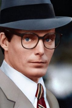 Clark Kent (Christopher Reeve) in Superman I, II, III & IV....I would pick him over Superman any day. He's so funny when he's clumsy!