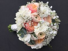 Vickys Flowers specialist wedding and event florist, first established Now freelance based in West Lothian Flower Service, Wedding Bouquets, Wedding Flowers, Floral Wreath, Creativity, Peach, Coral, Wreaths, Style