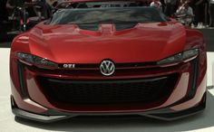 The GTI Roadster Vision GT has a low-set carbon tub and low-profile windscreen