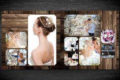 Wedding Photobook Template v1 by Spyros Thalassinos on @creativemarket