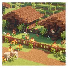 Chicken Coop Ideas 817825613565578810 - blockybonsai: Chicken coop is done c: – Minecraft Vibes Source by jules_draw Minecraft Farmen, Casa Medieval Minecraft, Villa Minecraft, Cute Minecraft Houses, Minecraft Structures, Amazing Minecraft, Minecraft House Designs, Minecraft Construction, Minecraft Survival