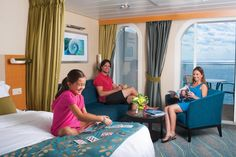 Onboard #AllureoftheSeas, there's always time for #family