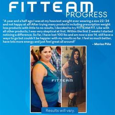 """Excerpt: """"Like with all other products, I was skeptical at first. Within the first 2 weeks I started noticing a difference. So far, I have loss 100 lbs and am now a size 14, still have a ways to go but couldn't be happier with my results so far."""""""