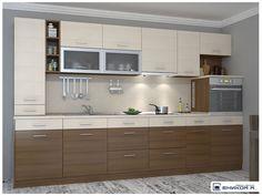 Кухня Европа 3 Kitchen Modular, Modern Kitchen Island, Modern Kitchen Cabinets, Kitchen Furniture, Kitchen Decor, Kitchen Cupboard Designs, Diy Kitchen Storage, Kitchen Sets, Simple Kitchen Design