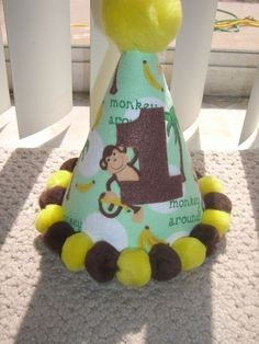 Infant/Toddler Boys 1st First birthday Monkey by littleoneboutique, $9.99