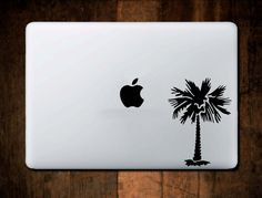 Palm Tree Decal Macbook decal, Laptop decal, Window decal Boat Ocean Beach Nautical by NebraskaVinyl on Etsy