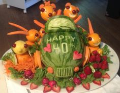 Happy Anniversary from all our fruit friends!