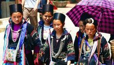 10 VIETNAMESE TEXTILE TRIBES EVERY FASHION LOVER SHOULD KNOW. Who's your favorite? Read at http://hauteculturefashion.com black hmong sapa cultural costume tribal textiles