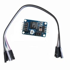 PCF8591 AD / DA / Analog to Digital / Digital-to-Analog Converter Module w/ Dupont Cable - Deep Blue. Adopts PCF8951 chip Supports external 4-way voltage input acquisition (voltage input range is 0 to 5 v) Integrated photosensitive resistance, can pass AD gathering accurate numerical value of environmental light Integrated thermal resistor, can pass AD collection environment temperature precise values Integrated 0 to 5V voltage input acquisition (by blue potentiometer to adjust the input…