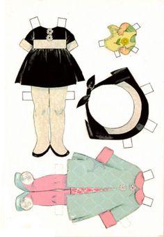 (⑅ ॣ•͈ᴗ•͈ ॣ)♡                                                              ✄Dolly and Me Paper Dolls