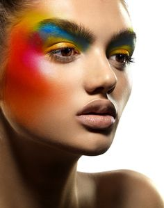 colors #makeup by JABE #WinWayneGossTheCollection