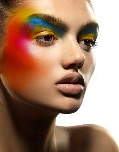 25 fashion photography examples by famous american photographer jeff tse fa Makeup Inspo, Makeup Art, Makeup Inspiration, Beauty Makeup, Make Up Looks, Foto Fashion, Runway Fashion, High Fashion Makeup, Makeup Photography