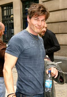 A-Ha lead singer Morten Harket is now 53 years old and looks DAMN fine. Take on me, indeed.