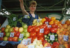 fruit market Yerevan, Armenia