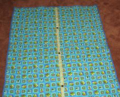 Kermit The Frog Quilt 40x55  by LizaDawn on Etsy