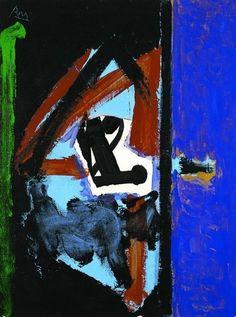 """Untitled"", 1980, Robert Motherwell"
