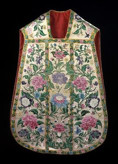 Chasuble, stole and maniple 1780