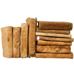 Fabulous Collection of 11 Early Latin Books w/Vellum Bindings. italy. Range in date from the 1600's to the early 1800's. 1stdibs