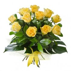 #Menkent is consist of a #dozen #yellow #roses #bouquet for your special someone. Available at PilipinasGift.com !