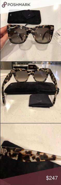 e4218b426cd Celine Catherine sunglasses 🕶 Celine Catherine Havana grey sunglasses-  Large size Beautiful color. 100% new and authentic guaranteed.
