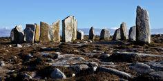 Going into the stone circle · Fallmore · Mullet peninsula © Paddy Timm