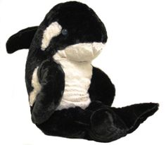 "Singing 16"" plush Orca Killer Whale which plays custom music featuring your child's name."