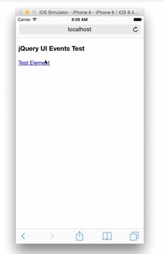 Tap UI Events Registered with mousemove Jquery Ui, Iphone 6, Ios, Web Design, Web Development, Events, Design Web, Website Designs, Site Design