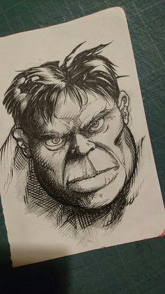 Un Hulk encré