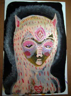 HumanCat Hybrid from Planet EEarthh0.9 original by VANESSAHHHHHH, $13.00
